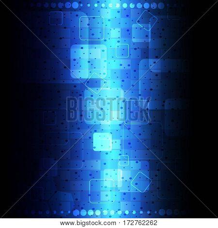 dark blue abstract eleglant hi-tech design technology