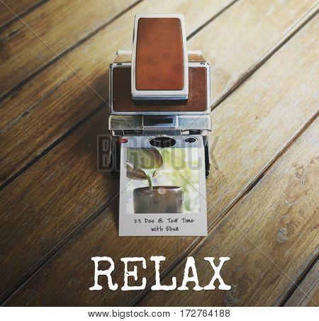 Leisure Break Pleasure Instant Film