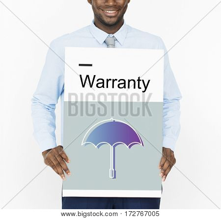 Warranty Security Safety Protection Guard Guarantee Umbrella Icons