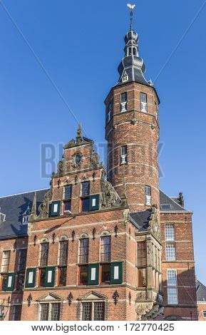 Province House In The Historical Center Of Groningen, The Netherlands