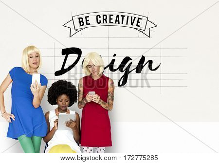 Creative Design Ideas Illustration Banner Concept