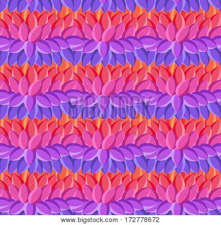 Textile bright decorative native ornamental striped seamless pattern