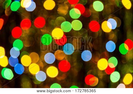 Abstract colored background. Colorful bright lights. Fantasy