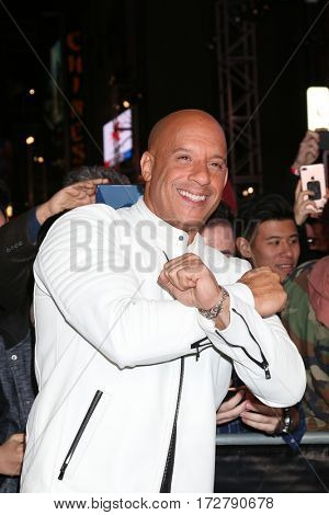 LOS ANGELES - JAN 19:  Vin Diesel, aka Mark Sinclair at the