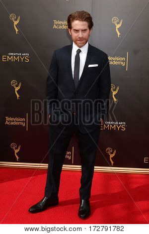 LOS ANGELES - SEP 11:  Seth Green at the 2016 Primetime Creative Emmy Awards - Day 2 - Arrivals at the Microsoft Theater on September 11, 2016 in Los Angeles, CA