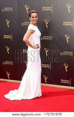 LOS ANGELES - SEP 10:  Melora Hardin at the 2016 Creative Arts Emmy Awards - Day 1 - Arrivals at the Microsoft Theater on September 10, 2016 in Los Angeles, CA