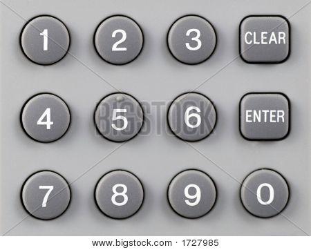 Remote Control Keypad