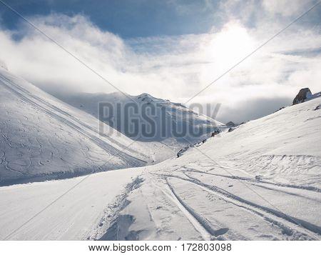 Sunny Day In Kalavrita Ski Center