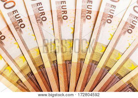 Euro Money Fan Detail