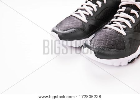Sport shoes isolated on white background. running shoes