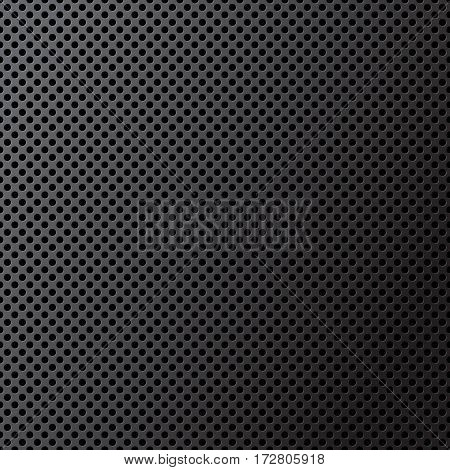 vector illustration of grey speaker grill texture