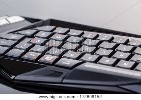Black Gaming Keyboard