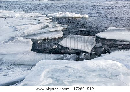 Global Warming And Climate Change The Concept Because Of Melting Ice.