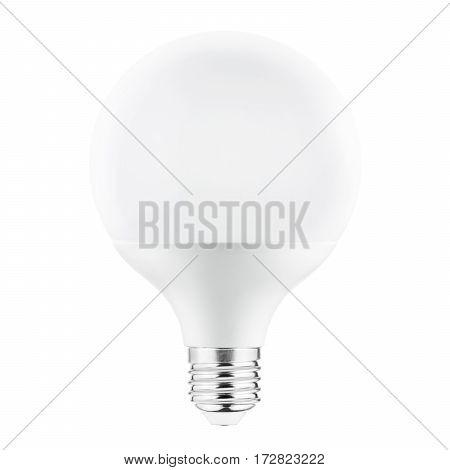 Led Bulb Isolated On White Background. Led Light. Led Lightbulb