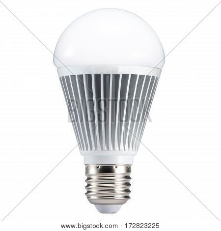 Led Bulb Isolated On White Background. Filament Led Light Bulb. Led Light. Clipping Path