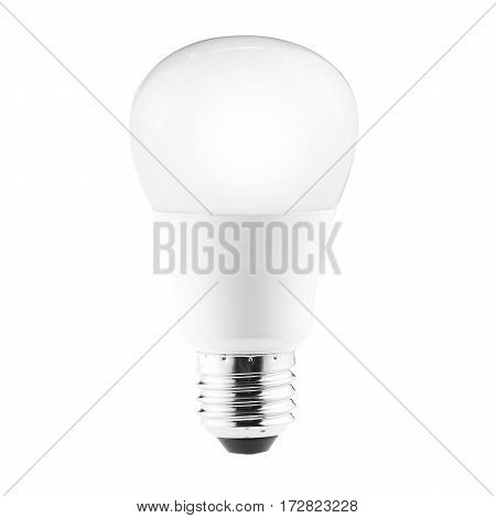 Led Bulb Isolated On White Background. Led Lightbulb. Led Light