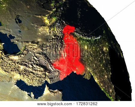 Pakistan From Space