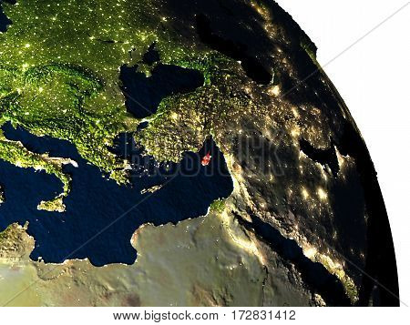 Cyprus From Space