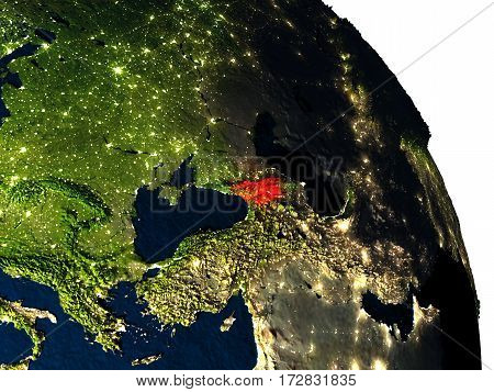 Georgia From Space
