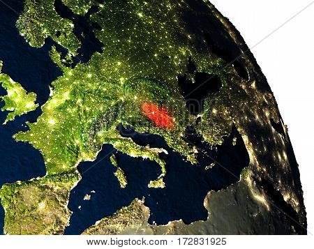 Serbia From Space
