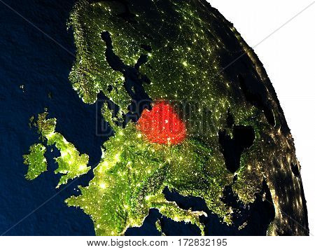 Poland From Space