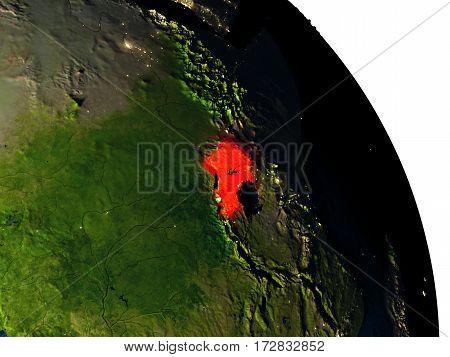 Uganda From Space