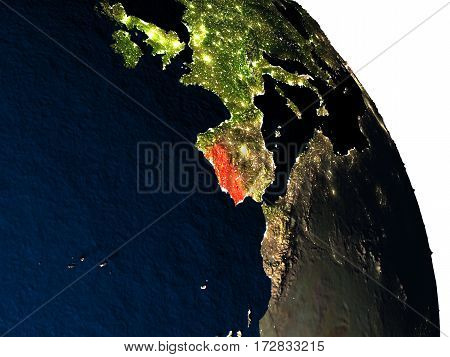 Portugal From Space