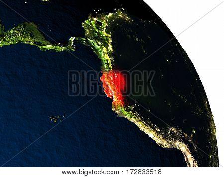 Ecuador From Space