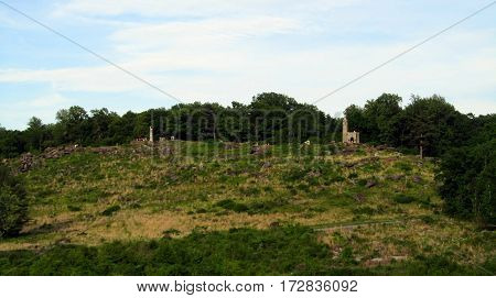 Little Round Top, Getysburg national military park, Getysburg Pennsylvania