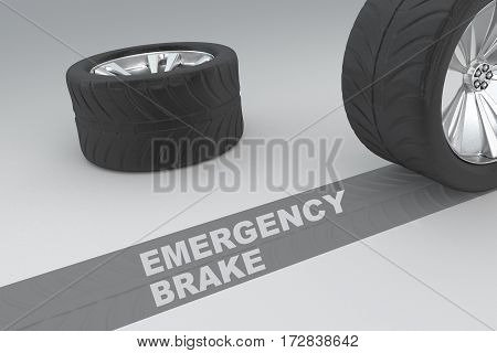 Emergency Brake Concept