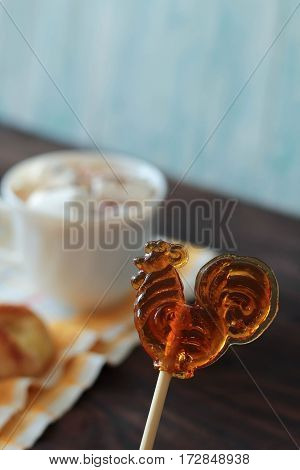 Lollipop And Hot Cocoa