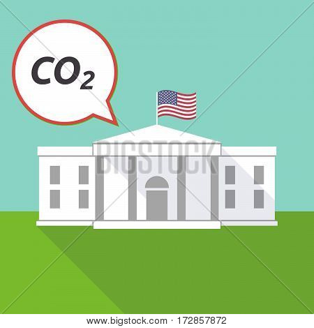 The White House With    The Text Co2