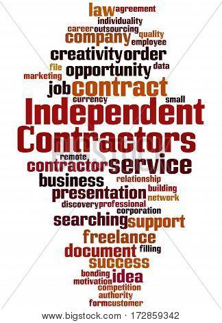 Independent Contractors, Word Cloud Concept 2