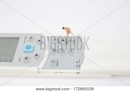 Sumo Figure With The Keyboard