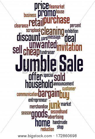 Jumble Sale, Word Cloud Concept 6