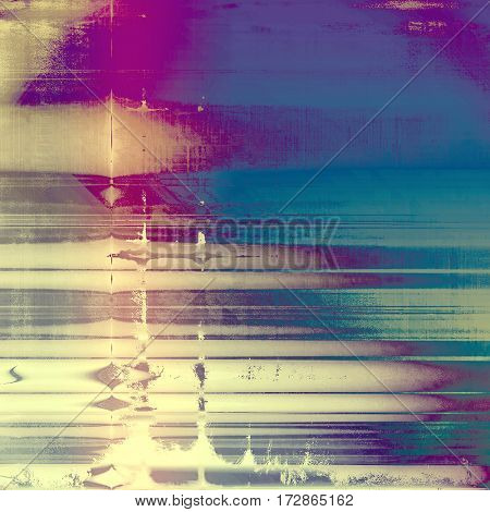 Grunge background for a creative vintage style poster. With different color patterns: yellow (beige); gray; blue; purple (violet); pink; cyan