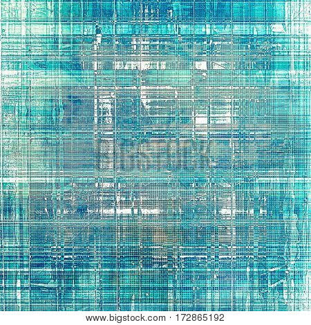 Distressed grunge texture, damaged vintage background with different color patterns: gray; blue; white; cyan
