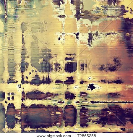 Colorful scratched background or grungy texture. With different color patterns: yellow (beige); brown; gray; red (orange); purple (violet); pink