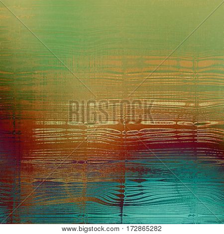 Vintage design background - Grungy style ancient texture with different color patterns: yellow (beige); brown; red (orange); purple (violet); green; blue