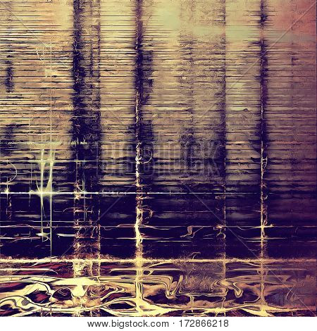 Old grunge antique texture. With different color patterns: yellow (beige); brown; gray; purple (violet); pink; blue