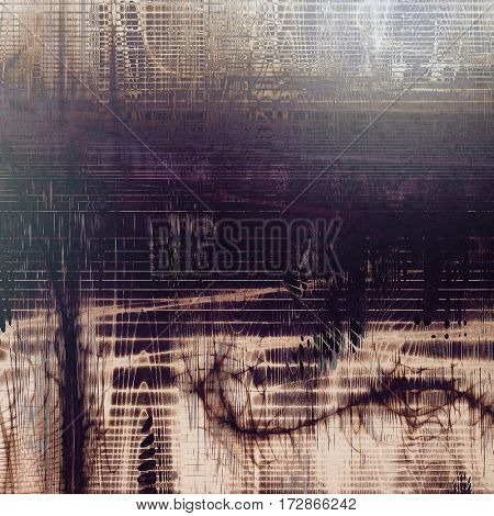 Cute colorful grunge texture or tinted vintage background with different color patterns: yellow (beige); brown; gray; blue; purple (violet); black