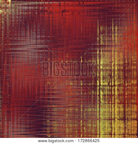 Retro texture, shabby and ragged background in grunge style. With different color patterns: yellow (beige); brown; red (orange); purple (violet); pink