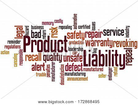 Product Liability, Word Cloud Concept 8