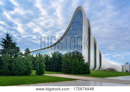 Heydar Aliyev Center In Baku