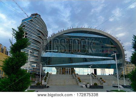 Building Of Qafqaz Baku Sport Hotel