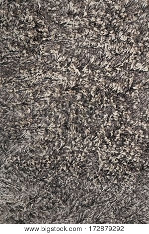 real brown texture of fluffy carpet ready for your interior design