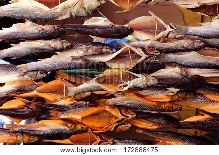 stockfish at the market great snack to beer cooler