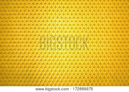 Empty honeycomb grid, brand- new beeswax, background texture