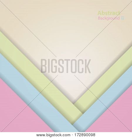 Vector dark pink blue green and yellow material design background. Abstract creative concept layout template.