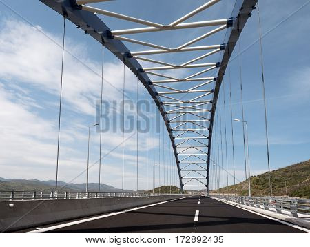 The Bridge At Tsakona, Greece
